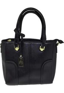 Bolsa Casual Importada Sys Fashion 8533 Preta