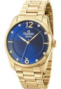 Relogio Champion - Cn27607A - Feminino-Dourado