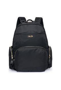 Bolsa Mochila Premium Bag`S Cavalera Dia A Dia Reforçada Estilosa 01 Preto
