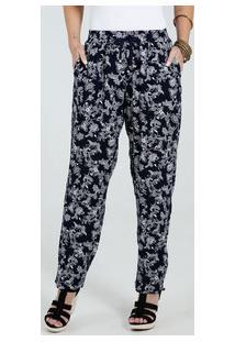 Calça Feminina Pijama Estampa Floral Marisa