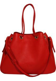 Bolsa Line Store Leather Sacola Vermelha Judd.