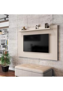 Painel Para Tv Até 50 Polegadas Kenzo Móveis Bechara Off-White