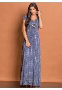 31e454fef Vestido Estampado Quintess feminino