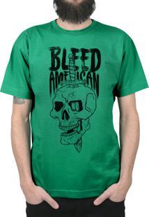 Camiseta Bleed American Bope Bandeira