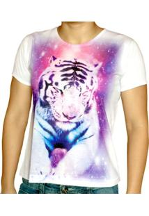 Camiseta Baby Look Eliti Tigre