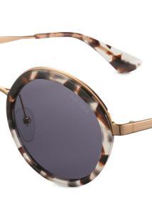 Prada Eyewear Prada Cinéma Eyewear Sunglasses - Branco
