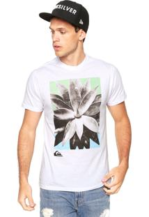 Camiseta Quiksilver Aisin Wars Branca