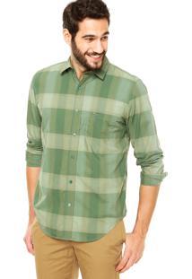 Camisa Lacoste Quadriculada Verde