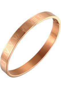 Pulseira Bracelete Vanglore Romano Rosê