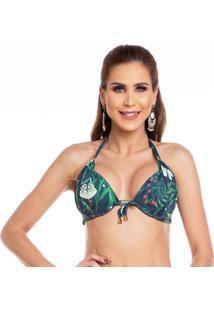 Sutiã Plus Size Avulso Maré Brasil 48 A 54 Azul Marinho