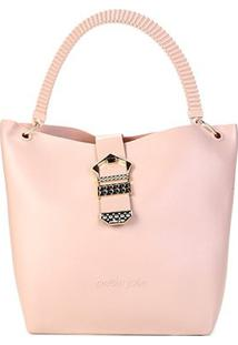 Bolsa Petite Jolie Shopper City Bag - Feminino-Nude