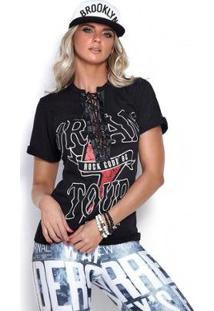 Camiseta Dream Tour Rock Code Feminina - Feminino