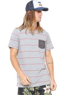 Camiseta Billabong Sundays X Cinza