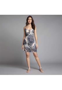 Vestido Com Alças Estampa Nautilus - Lez A Lez