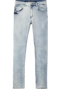 Calça John John Skinny Sidney Jeans Azul Masculina (Jeans Claro, 46)