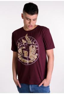 Camiseta Vinho Skatista