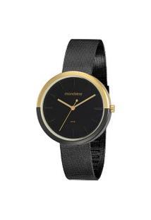 Relógio Feminino Mondaine 32120Lpmvhe3 Analógico 5Atm   Mondaine   Dourado   U