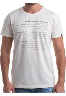 Camiseta Clothis Beaches Of Floripa Masculina - Masculino