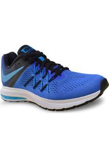 Tenis Masc Nike 831561-401 Air Zoom Winflo 3 Azul/Preto
