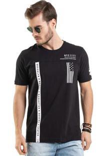 Camiseta Estampada Preto Bgo