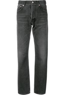 Balenciaga Calça Jeans Standard - Preto