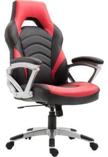 Cadeira Gamer Jinx Preta E Vermelha