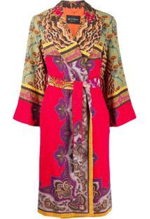 Etro Merseyside Printed Jacket - Vermelho