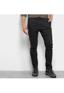 Calça Jeans Calvin Klein Five Pockets Athletic Taper - Masculino-Preto