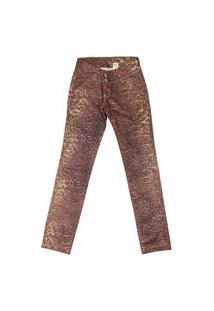 Calça Look Jeans Skinny Onça