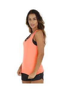 Camiseta Regata Oxer Campeão Classic - Feminina - Laranja
