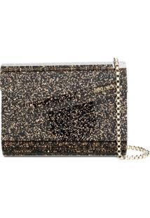 Jimmy Choo Candy Clutch - Preto