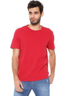 Camiseta Hering Comfort Vermelha