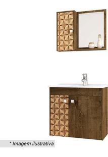 Conjunto Para Banheiro Munique- Madeira Rãºstica & Madeirbechara