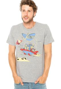 Camiseta Fashion Comics Hannah-Barbera Cinza