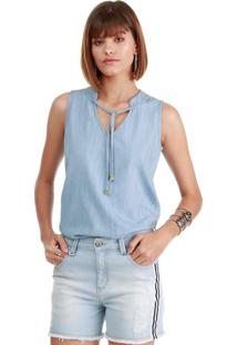 Blusa Sideral Jeans Destroyed - Tricae
