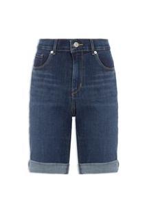 Bermuda Feminina Jeans Update - Azul