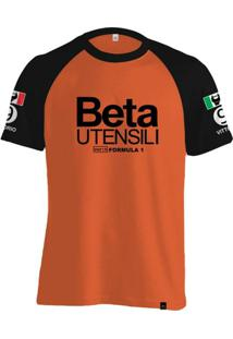Camiseta Fórmula Retrô March Beta 1975 Vittorio Brambilla - Masculino