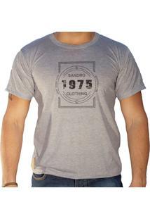 Camiseta Masculina Sandro Clothing Nova York 1975 Cinza