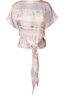Raquel Allegra Blusa Tie Dye - Rosa