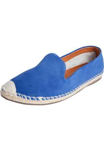 Alpargata My Shoes Bordado Azul