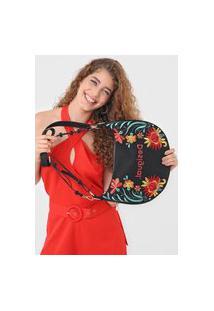 Bolsa Desigual Shoulder Bag Adaggio Preta