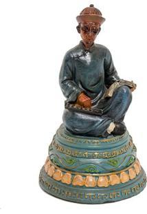 Escultura Decorativa Qing