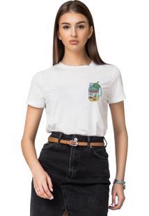 Camiseta Basica Joss Weekend Branca - Kanui