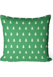 Capa De Almofada Love Decor Avulsa Decorativa Pinheiros Minimalistas Verdes - Kanui