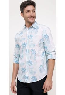 6f2448061c007 Lojas Renner. Camisa Comfort Estampada Floral ...