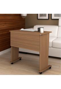 Mesa Para Computador Com Rodízio Me4117 - Tecno Mobili - Amendoa