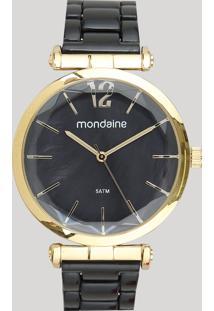 Relógio Analógico Mondaine Feminino - 53744Lpmvdf2 Dourado - Único