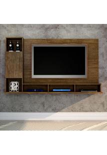 Painel Para Tv Até 55 Polegadas Vision Ipê