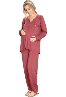 Pijama Vincullus Inverno Gestante