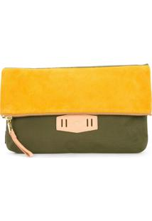 As2Ov Clutch Com Contraste - Green